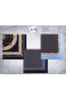Pañuelo Adulto Azul