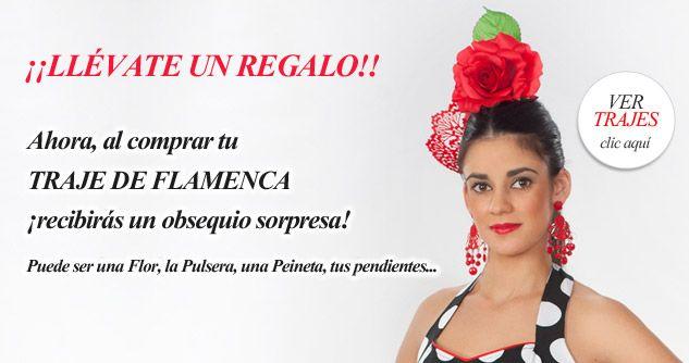 Obsequio Traje Flamenca