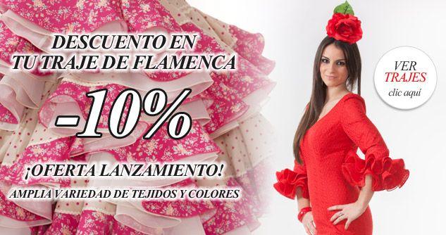 Descuento en Trajes de Flamenca